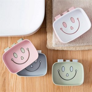 Multicolor Soap Dispenser Non-slip Soap Box Bathroom Shower Tray Drain Rack Bathroom Accessories Kitchen Sink Sponge Rack