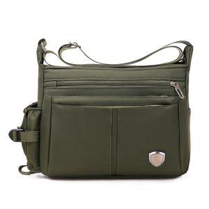 Men's Fashion Travel Canvas Shoulder Bag Men Messenger Purse Top-handle Crossbody Bags Pack School Bags for Teenager