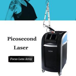 2020 New Model Picosecond nd yag Laser tattoo removal machine 532nm 1064nm 1320nm 755nm Pigment Melasma Removal Machine free shipping