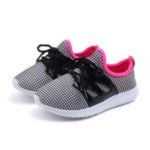 Children Shoes 2020 New Spring Unisex Toddler Boys Girls Mesh Breathable Fashion School Shoe Running Sneaker for Kids Size 25-32