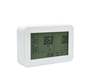 Venta al por mayor- Bside EET500 Analizadores de gas 3-IN1 CO2 METER Detector de analizador de gas 0 ~ 9999PPM Analizadores de CO2 con temperatura JLLLPZU SOIF