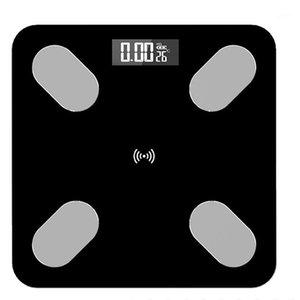바디 스케일 바닥 과학적 스마트 전자 LED 디지털 무게 욕실 저울 Balance Bluetooth App Android iOS1