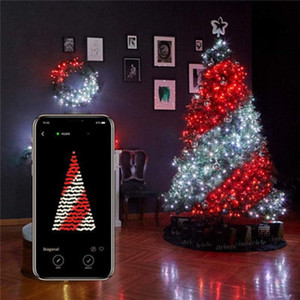Original 20m Christmas Tree Decoration LED Lights Bluetooth String Lights Customized App Remote Control lamp string