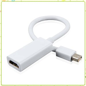 Thunderbolt Mini Display Port DisplayPort DP Maschio a HD Femmina Mini DP Converter Adapter Cable per Apple MacBook PC MQ50