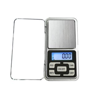 Mini Electronic Digital Scale Jewelry Weigh Scale Balance Pocket Gram Lcd Display Scale With Retail Box 500 bbygas ladyshome