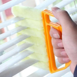 Useful Microfiber Window Car Cleaning Brush Air Conditioner Duster Cleaner With Washable Venetian Blind Blade Cleaning Cloth jllKym