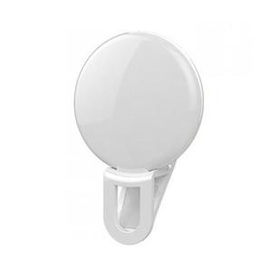 A buon mercato Lente di cellulare a basso costo portatile Selfie Flash LED Clip-on Phone Mobile Selfie Light per il trucco notturno che migliora la spia di riempimento della luce dell'autoscatto