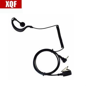 XQF 10шт черный 1 Pin PMIC Наушник гарнитура для Motorola Радиостанции T5700 T5920 T5950 T7200