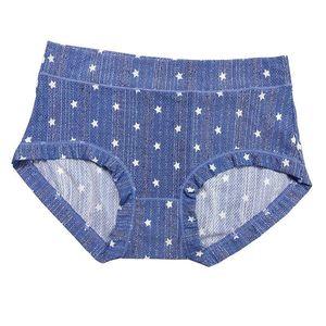 Underwear Sexy Panties Kawaii Printed Ice Slik Briefs Underpant Mid Waist Panty Ladies Cute Lingeries