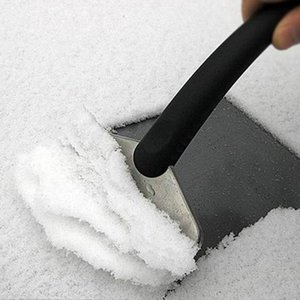 Durable Snow Ice Scraper Car Windshield Auto Ice Remove Clean Tool Window Cleaning Tool Winter Car Wash Accessories Snow Remover GWF3670