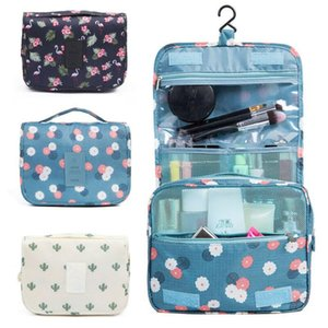 Portable Wash Hangbag Cosmetic Organizer Waterproof Storage Bag Case Pouch Travel Hanging Makeup Toiletry Xtfhm