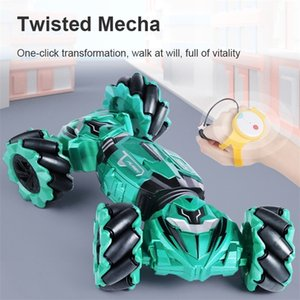 New Rc Car Gesture Sensing Twist And Remote Control 2.4 GHZ Stunt RC Car On-road And Off-Road Trucks Boys Toys For Children Gift 201211