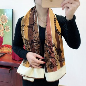 Love in the jungle Leopard print velvet scarf comfortable warm thin silk cashmere shawl 135*135cm 155G