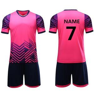 Boys girls survetement football jerseys shirt kids youth soccer sets training jersey suit sport kit clothing printing customize