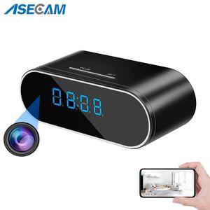 HD 1080P واي فاي الجدول ساعة ساعة مصغرة كاميرا IP P2P DVR كاميرا فيديو إنذار مجموعة للرؤية الليلية استشعار الحركة عن بعد مراقب مايكرو كام 201207