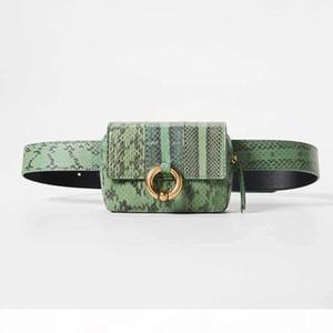 handbags 2020 womens designer luxury bag Snake skin waist bag Fashion trend belt bags messenger bags