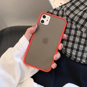 Luxury Shockproof Case For Iphone 6 6s 7 8 Plus X Xr Xs Max Silicone Translucent Matte Phone Cover For Iphone11 Pro sqcWDZ