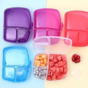 Child Lunch Box Leak-Proof Bento Lunch Box For Kid School Food Container ableware Vegetable Food Storage Container Kitchen Tools Z1123