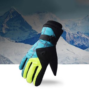 1 Pair Winter Touchscreen Ski Snow Warm Gloves Anti-slip Waterproof Thermal Motorcycle Snowboard Mittens Gloves For Man Women