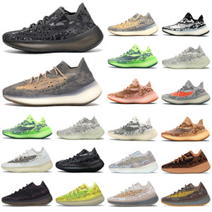 yeezy yeezys yezzy yezzys yzy Kanye West 380 v3 Correndo Sapatos Pimenta Azul Aveia Alien Névoa 3M Reflexivo Homens Mulheres Mulheres Esporte Sneakhers Chaveiros Esportes Sapatos