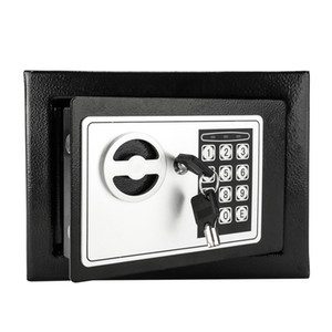 Mini Steel Digital Electronic Cash Boîte Coffre-fort Verrouillage Bill Bijoux Boîte à bijoux Accueil Safe US Stock