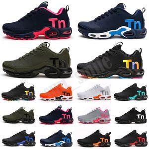 Mercurial Plus Tn KPU 2021 Yeni Erkekler Zapatillas TN Tasarımcı Sneakers Chaussures Homme Erkekler Basketbol Ayakkabı Erkek Mercurial TN Koşu Ayakkabıları EUR40-46