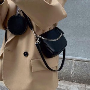 One Messenger Women Shoulder Three In Bags Retro Chain Under The Armpit Bags Female Cool Crossbody Handbag And Purse Travel
