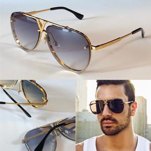 Новые моды дизайнер мужчин солнцезащитные очки 0928 пилотные рамки-менее качественные качества анти-UV400 объектив с коробкой простые популярные наружные очки