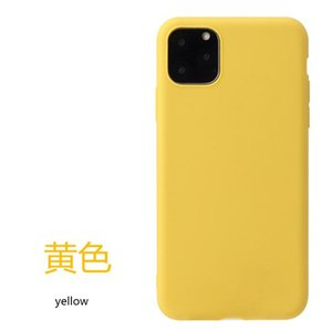 Suitable for iPhone 12 pro max frosted TPU soft shell anti-fall xs max mobile phone shell 8plus protective cover android tablet