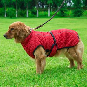 الكلب سترة في الهواء الطلق يندبروف الاحتيالي عاكس معطف الصدرية الشتاء الملابس القطن الدافئة للكلاب الوسطى الكبيرة JK2012PH