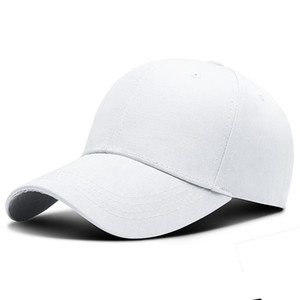 New Brand Women Baseball Cap Outdoor sports hat Adjustable Caps Casual Hats Simple Pure Color Board Cap