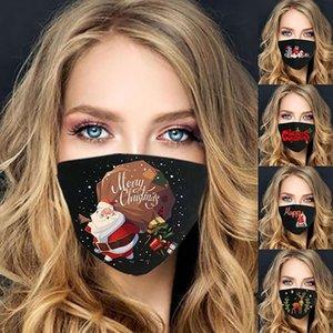 Mscara Maskeli Noel Maskesi ABD Moda Kullanımlık Açık Nefes Parti Dekorasyon Pamuk Rüzgar Geçirmez Maske FaseMask