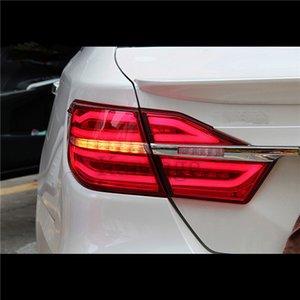 KOWELL Car Styling for Tail Lights Toyota Camry V55 2015 2016 2017 LED Rear Light Fog light Rear Lamp DRL Brake+Park+Signal