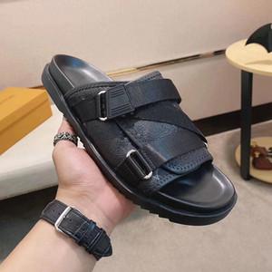 New Men Designer Flip Flops Sandals Designer Slides Verão Moda Top Qualidade Luxo Sandálias Plana Chinelos