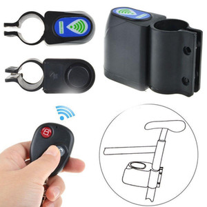 Bicycle Burglar Allarme Attrezzatura per ciclismo Articoli Password Lock Telecomando senza fili Siren Man Lady 13at O2