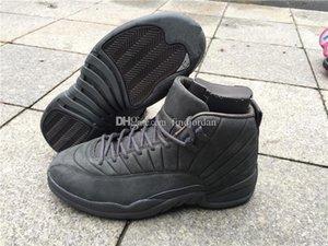 Erkek Ayakkabı 2021 Basketbol Sneakers Çevrimiçi Erkekler Sıcak Satış ucuz Tasarımcı Spor Tenis Ayakkabı için Ayakkabı Koşu 12 Xii Psny Siyah 12s