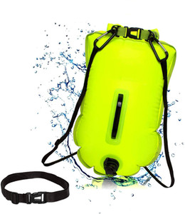 20L Portable Safe Storage Inflatable Waterproof Swimming Buoy Dry Bag for Outdoor Water Sport Kayaking Boating Fishing