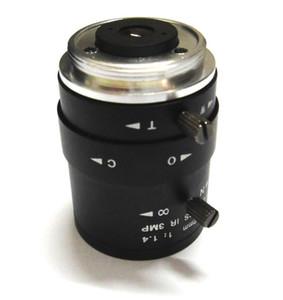 """Linse X2PCS HD 3MP 2.8-12mm CCTV CS-Montierung Manuelles Fokus IR 1 / 2,7 """".4 F1.4 für IP-Kamera"""