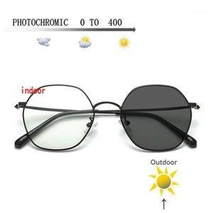 Sunglasses Frames Transition Pochromic Myopia Eyeglasses Finished Glasses For Men Computer Optical Frame FML1