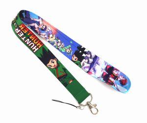 Оптовая продажа 10 шт. Hunter Anime Япония мультфильм значок ремешок брелок цепочка подарок ключ цепи шеи ремень ключей iPhone ID карты