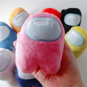 DHL Ship, 10cm Xmas Christmas Among Us Toy For Children Adult Plush Dolls New Year Kid Lovely Stuffed Toys Gift Collectable FY7310