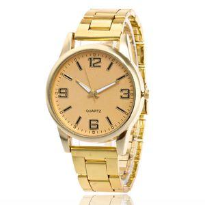 Dropshipping Dress Watch Fashion Cheap Quartz Wristwatches Rose Gold Steel Alloy Strap For MEN Women Gifts