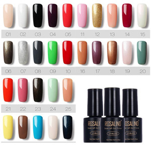 Nail Art Soak Off Gel Polish 7ml Led Uv Gel Nail Polishes Lacquer Semi Permanent Gel V jllTWO