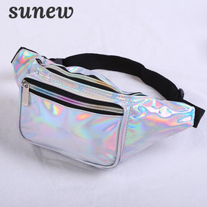 Waist Bag Belt Bag Bumbag Fanny Pack Hologram Holographic Fanny Pack For Women Heuptas Waistbag Fannypack Waist Belt K0321