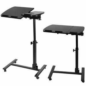 Stand tavolino da tavola per laptop regolabile angolo di altezza rotolante