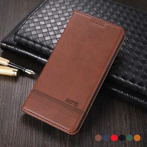 Couvercle de portefeuille de portefeuille en cuir magnétique pour Xiaomi MI 10 Lite 10T Pro Remarque Poco X3 NFC M3 5G Téléphone de téléphone Coque de protection