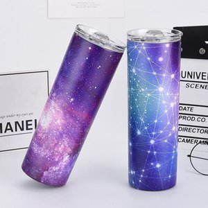 Hot Selling!!! 20 oz Stainless Steel Skinny Tumbler many Colors Skinny Tumbler Vacuum Insulated Travel Mugs with Lid and Straw