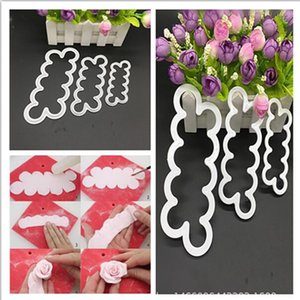 Party Cake Tools Cookie Cutter Cutter Cuttry Cute Biscuit Cutters металлические хлеб фрукты пластиковый большой бренд 1set = 3шт 3size OWC3948