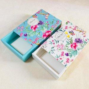 Kutular Toptan EWD2953 Ambalaj Çiçek Tasarım Peynir Doğum Günü Pastası Kağıt Kutu Mooncake Çerez Konteyner Snacks Hediye