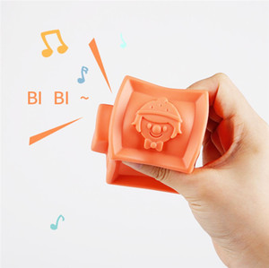 Eco-Friendly Baby Soft Toys Sensory Silicone Educational Building Blocks 3D Hanging Ball Babies Rubber Teether Squeeze Toys For Toddlers